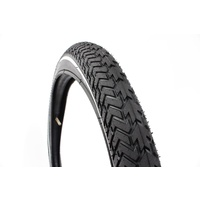 "Khe Mvp Bmx Bike Tyre Street 20""X2.30"", Black With White Pinline"