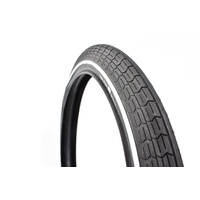 Khe Mark Webb  Bmx Bike Tyre Black 2.3 With White Line