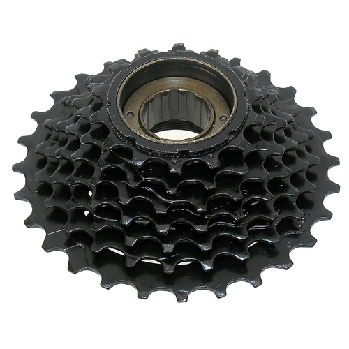 Freewheel 7 Speed 14-28T Index Hg Copy Black