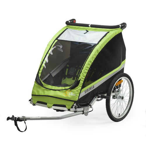 Bicycle Trailer Via Velo Branded For 1 or 2 Children